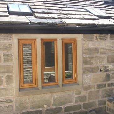 Cottage style windows