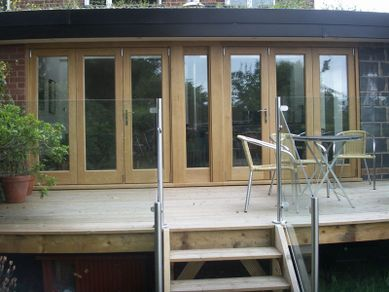 Fitted Bi-fold Doors